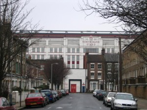 highbury - North Bank Stand